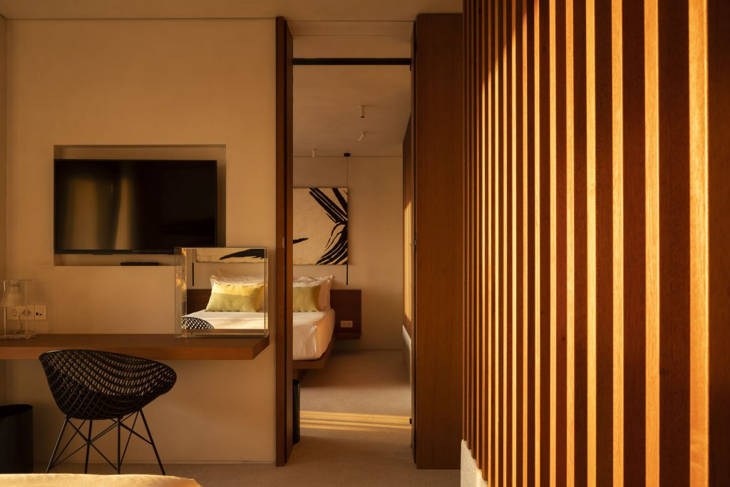 Suites with connecting doors
